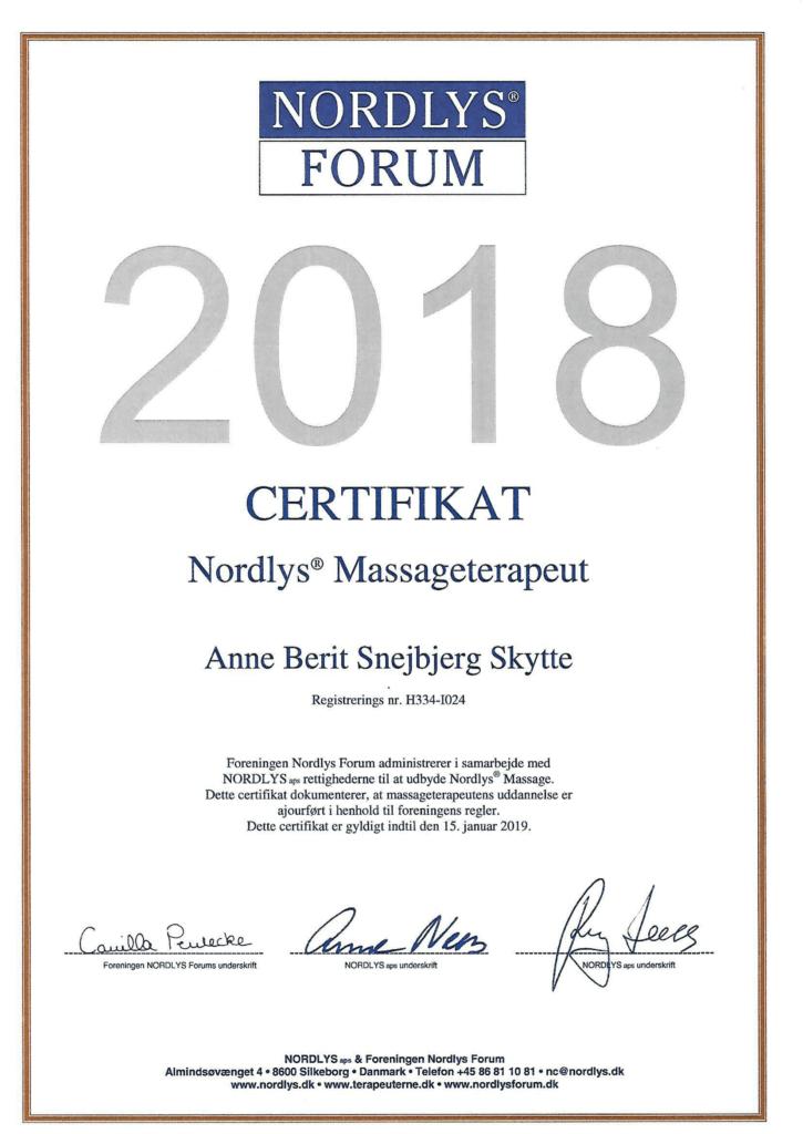 Nordlys Certificering
