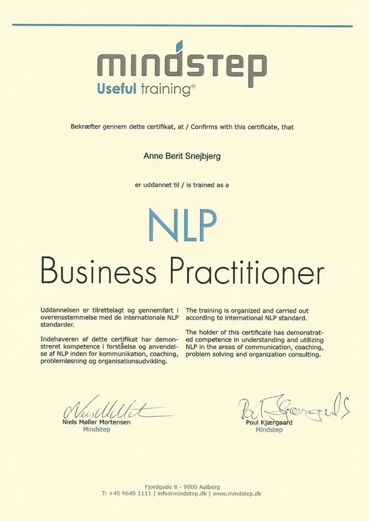 NLP coaching certifikat