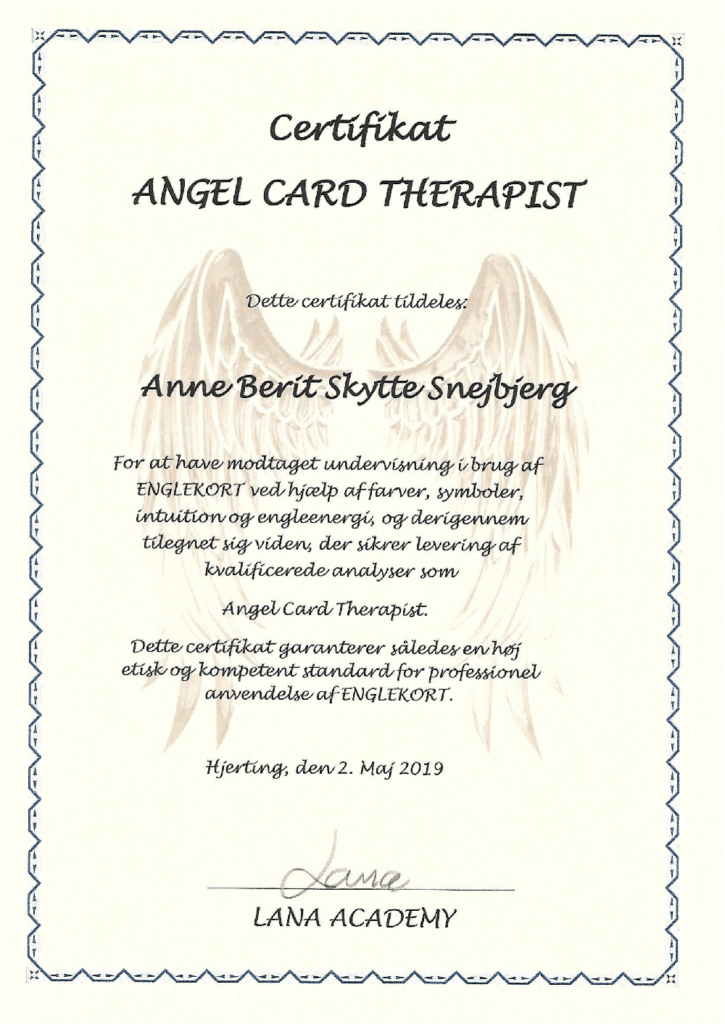Angel Card Therapist
