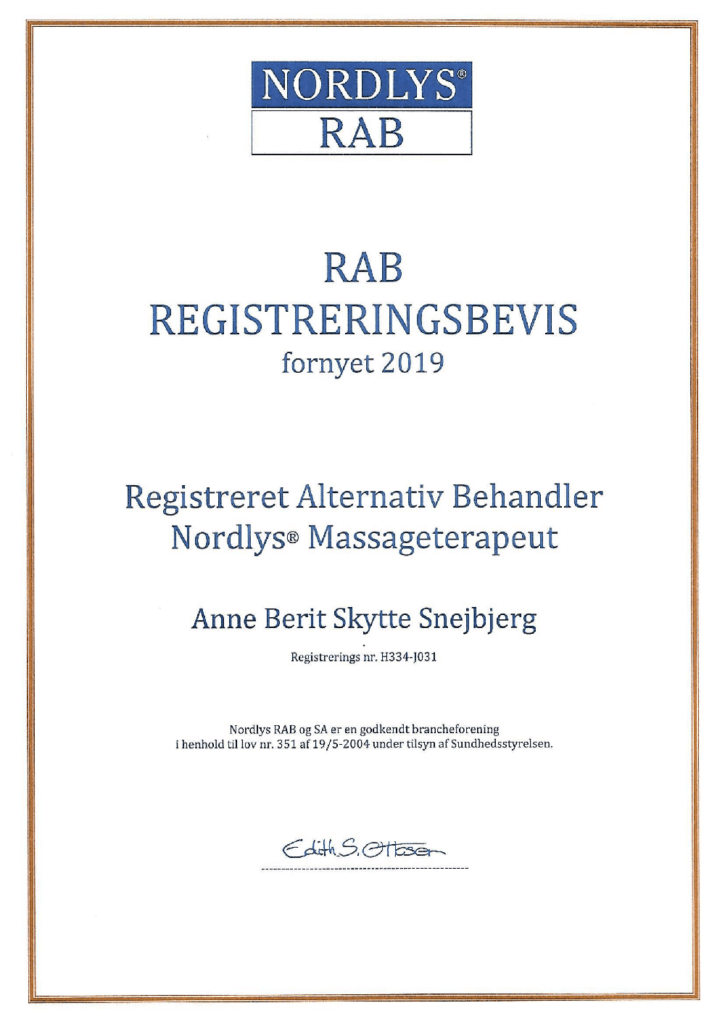 Rab registreringbevis 2019